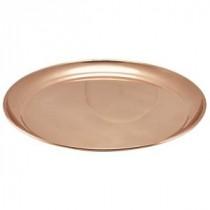 Genware Copper Round Tray 300mm