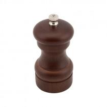 "Genware Dark Wood Salt or Pepper Mill Grinder 10cm-4"""