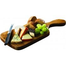 Genware Olive Wood Paddle Board 38x18x2cm