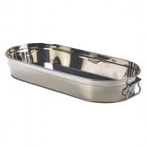 Genware Stainless Steel Sharing Bucket 46x20x7cm