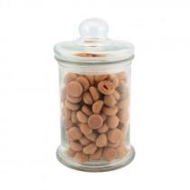 Genware Glass Biscotti Jar 1.3 Litre