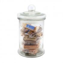 Genware Glass Biscotti Jar 4.8 Litre