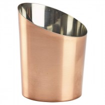 Genware Copper Angled Cone 11.5x9.5cm Diameter