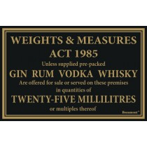 Berties Weights & Measures Act 25ml 17x14cm