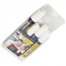 Berties Chalk Pens 7-15mm Chisel Tip White