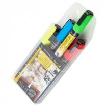 Berties Chalk Pens 2-6mm Chisel Tip Assorted Colours