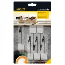 Berties Acrylic Tag Holder Set of 6 Pieces