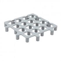 Genware Polypropylene Heavy Duty Dunnage Floor Rack 33cm square
